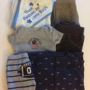 Carter's Baby Boy Clothing Mixed Lot